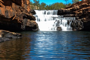 Gibb-River-Road, Bell Gorge Falls