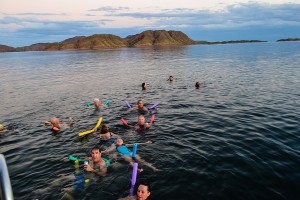 Lake-Argyle, Swimming and Drinking