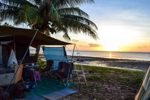 Cape-York, Loyalty Beach Setup