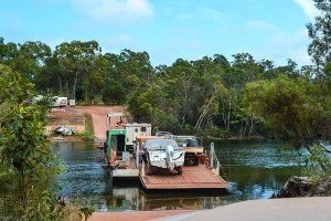 East-Coast, Jardine River Ferry Crossing